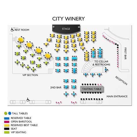 city winery seating chart city winery new york city seating chart seats