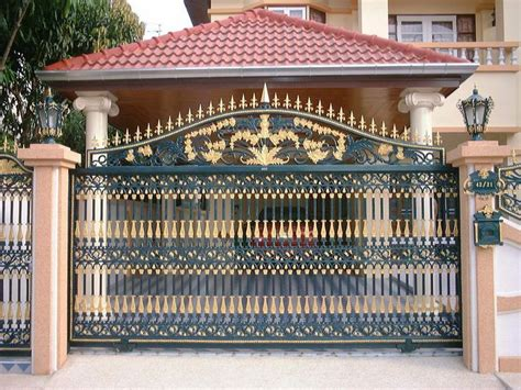 boundary wall design gate gate sles