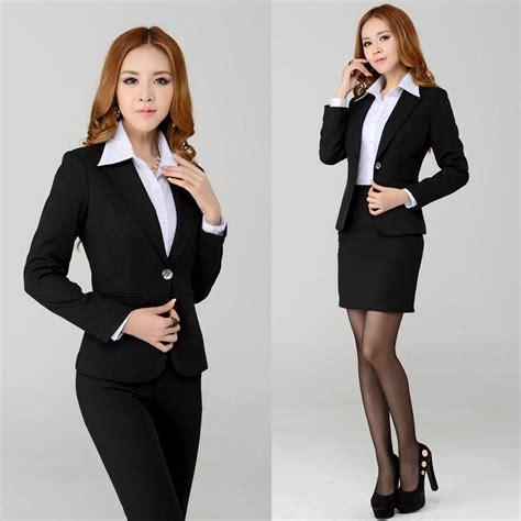 Setelan Wanita Kerja Kantor Resmi Formal Inner Blazer Celana Panjang buy grosir rok dan blazer pakaian from china rok