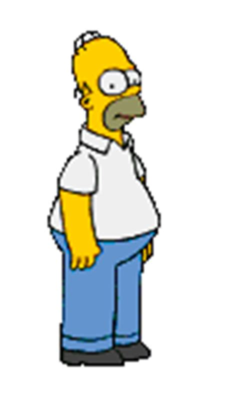 wallpaper gif simpsons gifs animes homer images animees simpsons