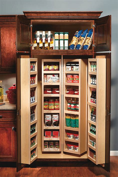 tall swing  pantry cabinet decora cabinetry