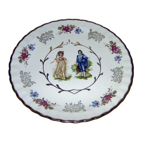 beautiful plates beautiful plate with pinkie and blue boy from