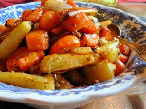 roasted root vegetable recipes with honey festive honey glazed roasted root vegetables with saffron