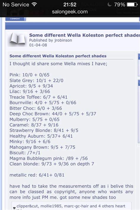 wella hair color formulas 196 best wella color formula images on pinterest