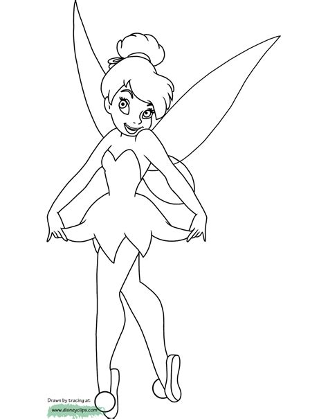 disney coloring pages tinkerbell disney fairies tinker bell coloring pages disney