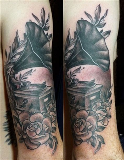 phonograph tattoo best 25 gramophone ideas only on