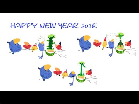 google images new year new year 2016 happy new year 2016 google doodle youtube