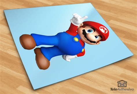 Tokomonster Mario Wall Decal Sticker Size 23 Inch mario bros 3