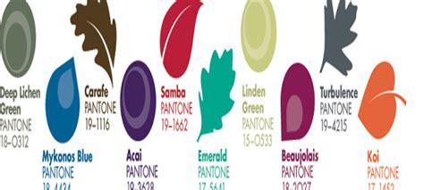 unisex colors artshine pantone top 10 s fashion trend colours fall