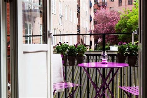 idee  arredare  balcone piccolo foto design mag