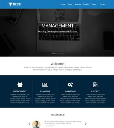 Most Popular Consulting Website Template Webthemez Consulting Website Template