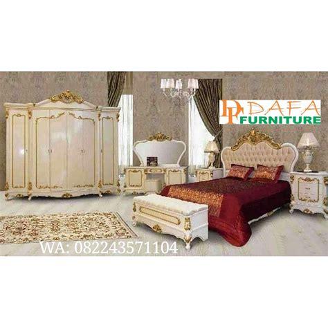 Tempat Tidur Ukiran Klasik set tempat tidur jepara model eropa ukiran klasik mewah