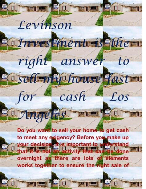 we buy houses fast for cash sell my house fast for cash los angeles