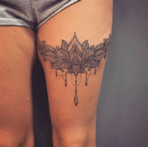 50 leg garter tattoos ideas and designs for 2018