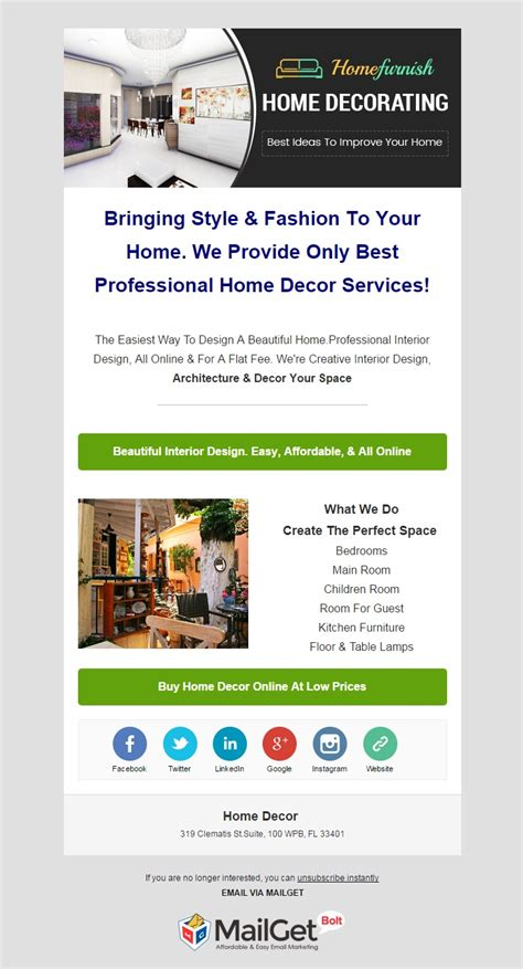 marketing for interior designers 16 best home improvement email marketing services house