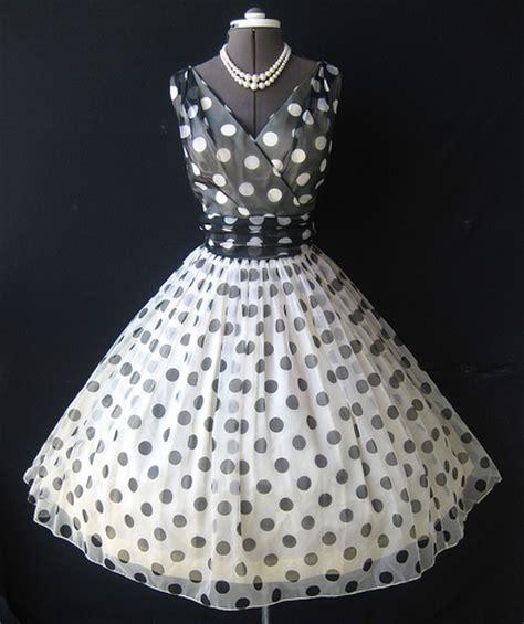 Stripi Polki Dress Hq 1950 s polka dot chiffon dress flickr photo
