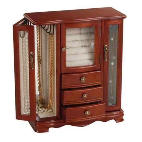 jewelry boxes armoires large jewelry armoire modern jewelry armoire unique jewelry armoire boxes bellacor