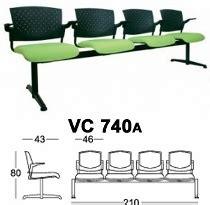 Kursi Tunggu Customer kursi tunggu chairman type vc 740a raja kantor bandung