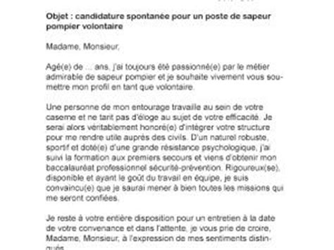 Lettre De Motivation De Pompier Volontaire Lettre De Motivation Secr 233 Taire De Mairie Confirm 233 E