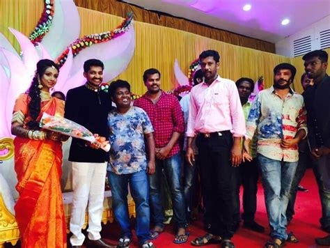 actor joe balaji actor balaji and preethi reception stills