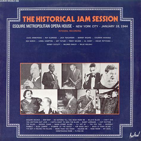 The Last American Esquire V A Esquire Metropolitan Opera House Jam Session 1944 24 96 Vinyl Rip Mono Avaxhome