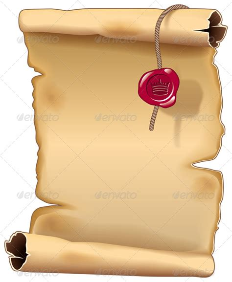 ancient scroll template ancient parchment scroll graphicriver
