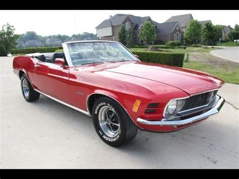 1970 ford mustang convertible for sale youtube