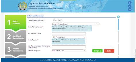 cara membuat paspor online untuk anak 2015 langkah membuat paspor online langkah dan cara membuat