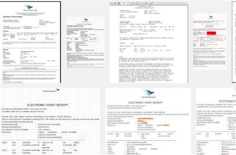 cara membuat invoice tiket pesawat cara cetak tiket pesawat garuda online