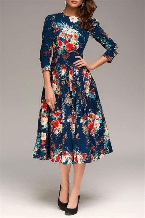 flower pattern outfit best ideas on how to wear midi dresses glaminspire com