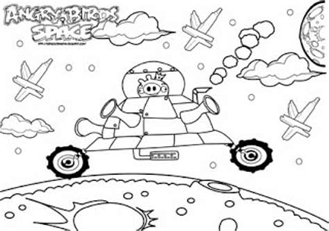 Angry Birds Space The Pig King All Free Coloring Page Angry Birds Space Coloring Pages