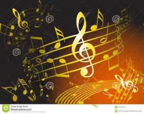 Music Themed by Golden Music Theme Royalty Free Stock Images Image 10911019