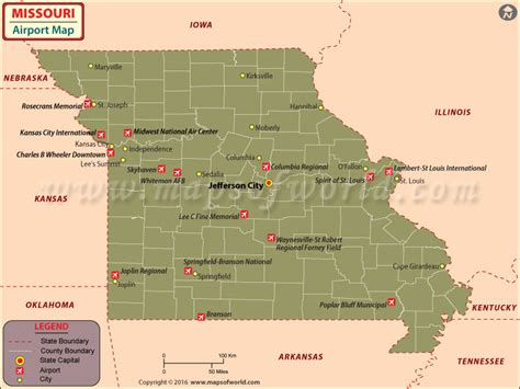 missouri map airports missouri history geography population state facts