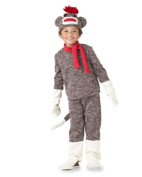 sock monkey costumes for costume