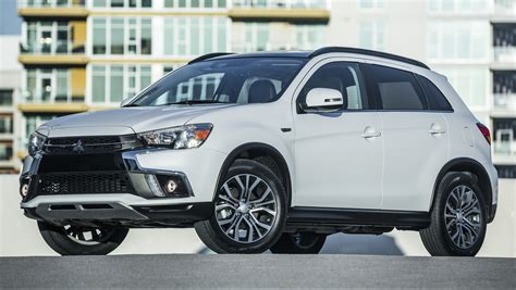 mitsubishi asx 2018 mitsubishi asx gets yet another facelift debuts in ny