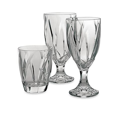 bed bath and beyond glassware noritake 174 breeze clear glassware bed bath beyond