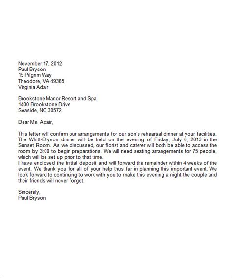 Business Letter Format On Letterhead Sample Formal Business Letter Format 19 Download Free