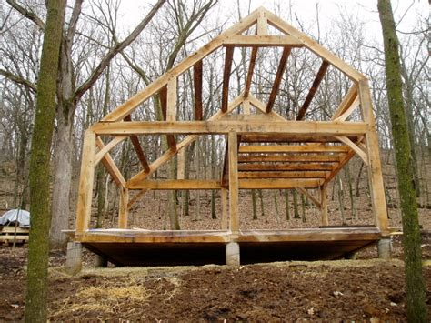 building an a frame cabin building your home