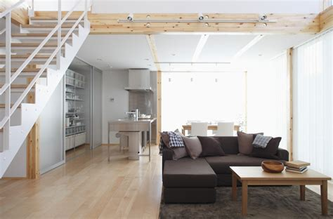 Japanese L Design by Simple Open Plan Living