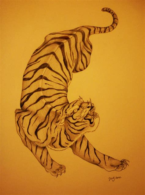 japanese tiger by solublepop on deviantart