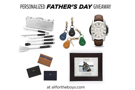 Day Giveaway - personalized father s day giveaway from things remembered all for the boys