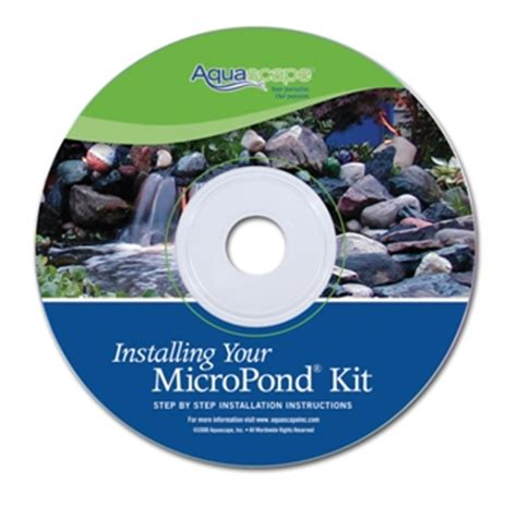 aquascape micropond kit installing your micropond kit instructional aquascape