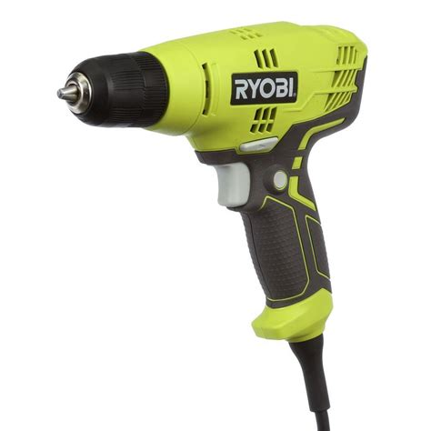 ryobi 5 5 3 8 in variable speed drill d43k the home
