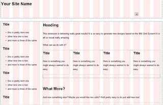 how to wireframe using 960 gs illustrator webdev il using grid systems for web design wireframes