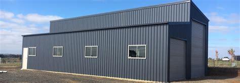 Add On Garage Designs monopitch skillion roof garage the shed company ltd