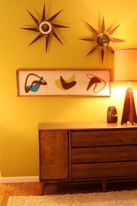 mid century modern wall decor mid century modern atomic witco styled wall