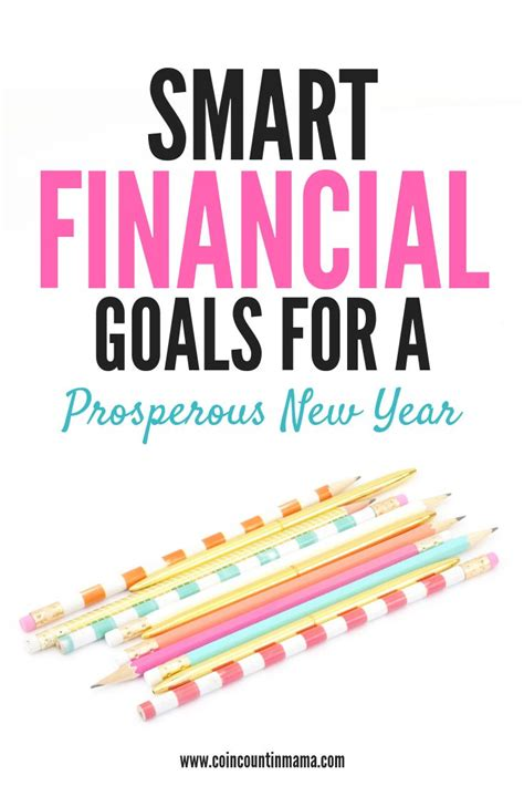 smart financial goals   prosperous  year life