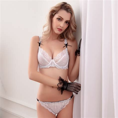 Oz Sherly Blouse 2016 ultra thin lace bra sets for