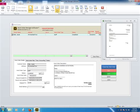 database software work order management software for business db pros