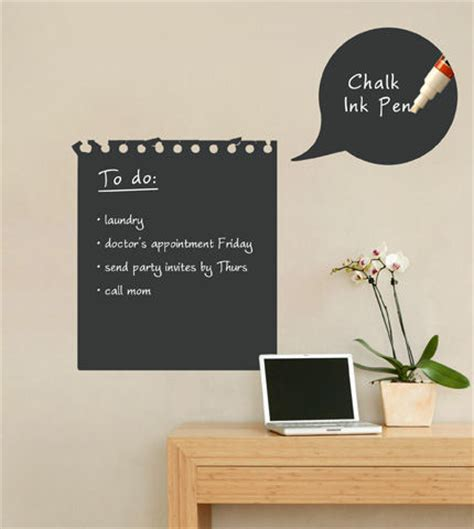 chalk wall stickers chalkboard memo wall decal